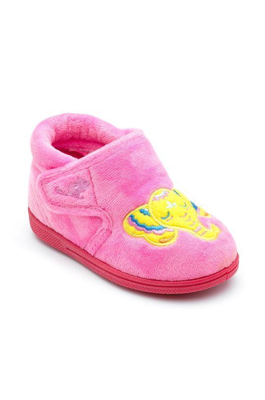 Chipmunks - Dětské papuče Echo růžová