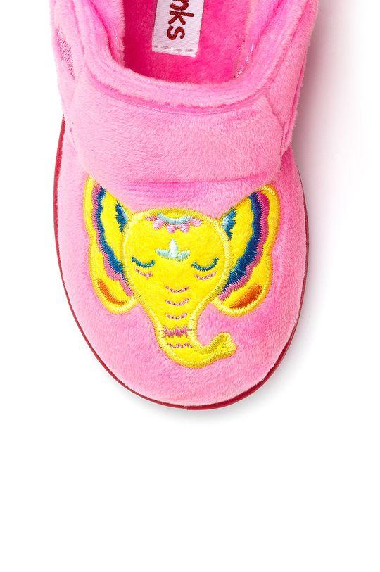růžová Chipmunks - Dětské papuče Echo