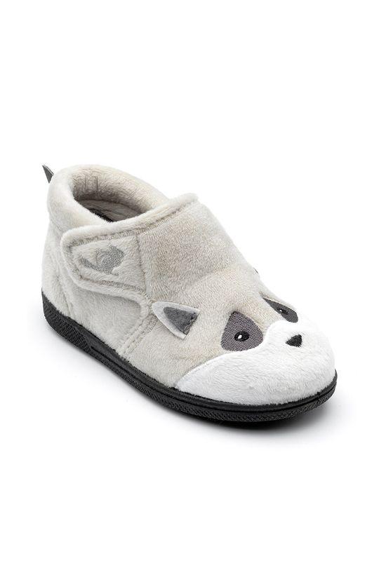 Chipmunks - Dětské papuče Rocco šedá