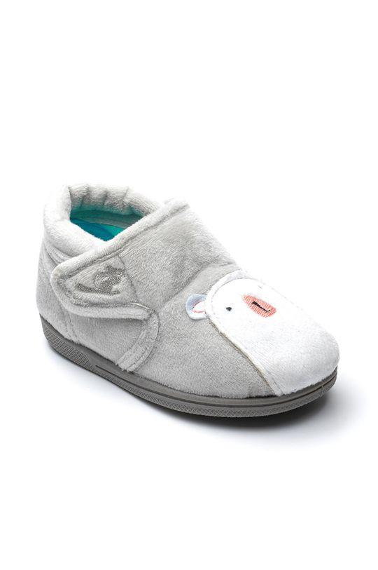 Chipmunks - Dětské papuče Arctic šedá