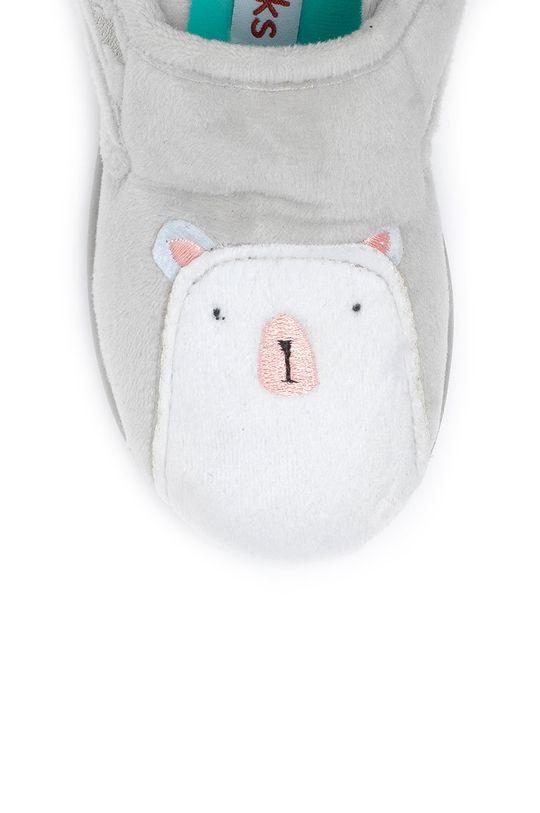 šedá Chipmunks - Dětské papuče Arctic