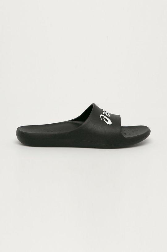 černá Asics - Pantofle Pánský