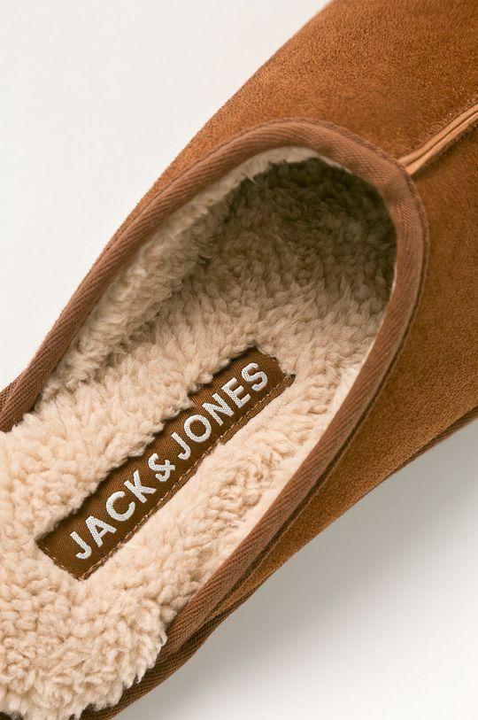 brązowy Jack & Jones - Kapcie