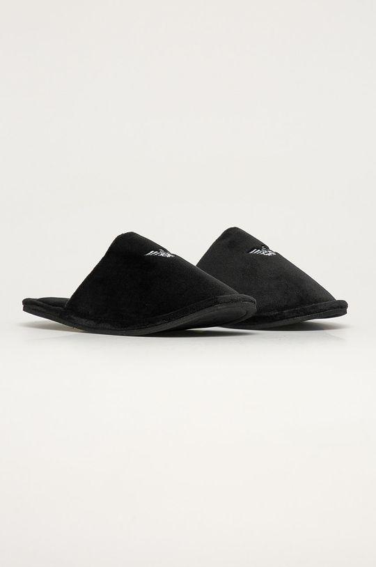 Emporio Armani - Pantofle černá