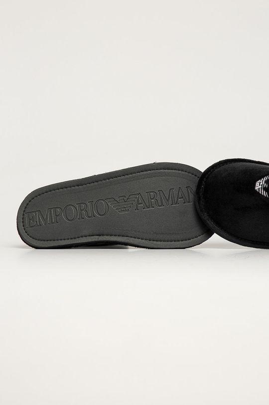 černá Emporio Armani - Pantofle