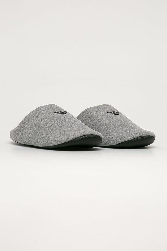 Emporio Armani - Pantofle šedá
