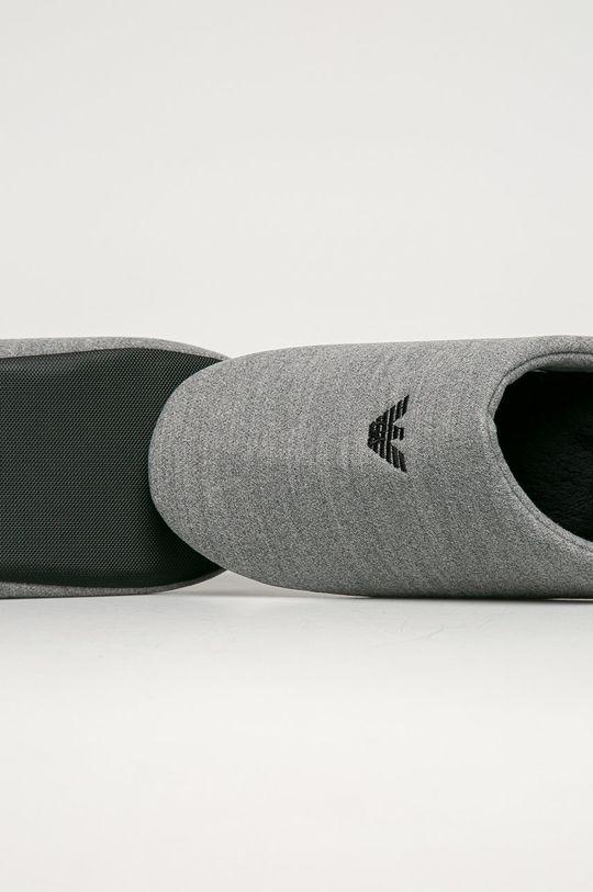 Emporio Armani - Pantofle  Svršek: Textilní materiál Vnitřek: Textilní materiál Podrážka: Umělá hmota