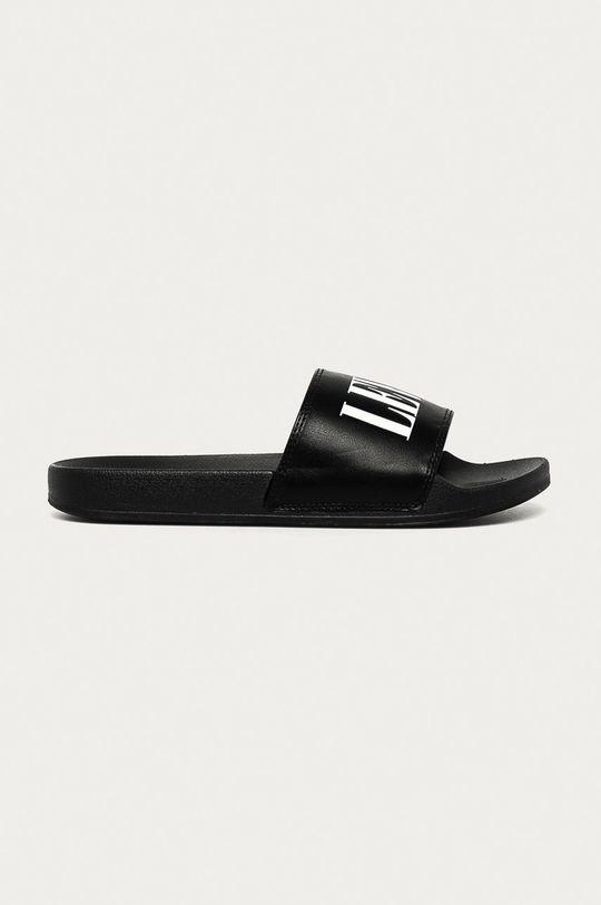 černá Levi's - Pantofle Pánský