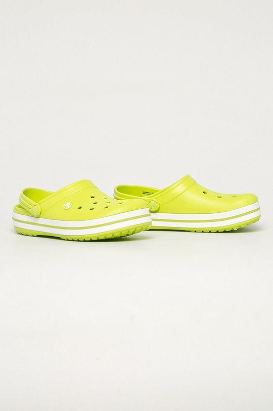 Crocs - Papuci galben – verde