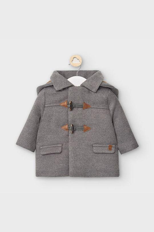 grafitová Mayoral - Detský kabát 65-86 cm Chlapčenský