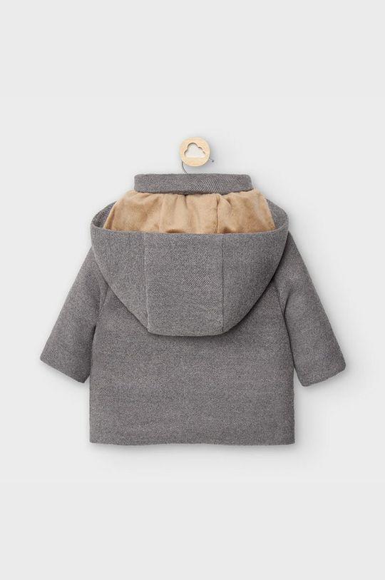 Mayoral - Detský kabát 65-86 cm grafitová