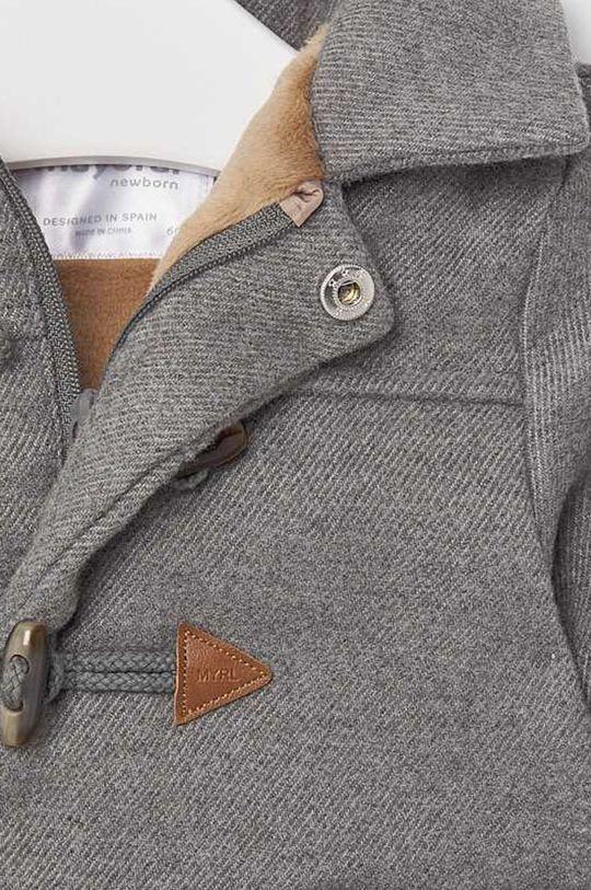grafitová Mayoral - Detský kabát 65-86 cm