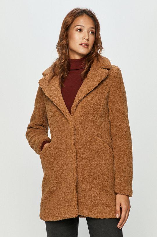 brązowy Vero Moda - Płaszcz Damski