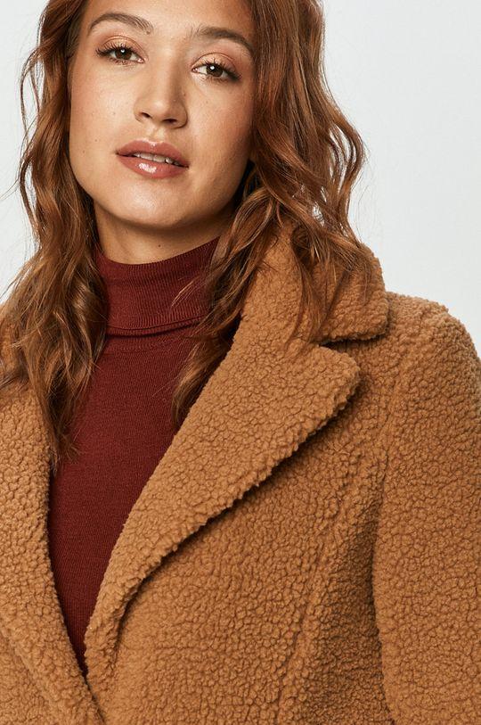 brązowy Vero Moda - Płaszcz
