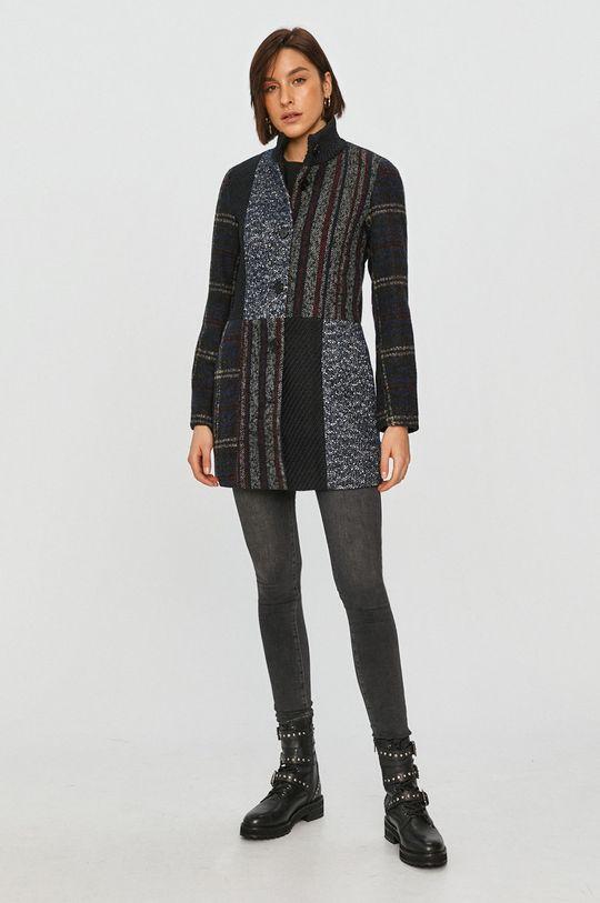 Desigual - Kabát viacfarebná