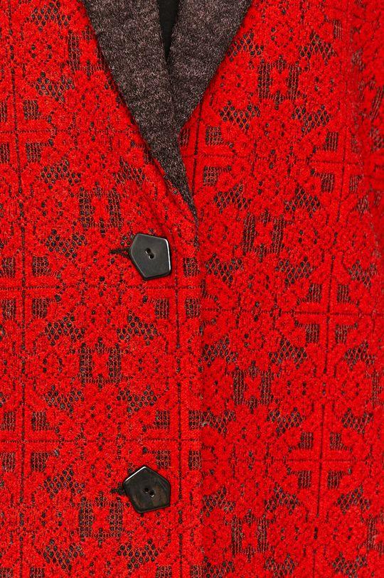 Desigual - Kabát červená