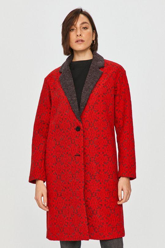 Desigual - Kabát  30% Akryl, 7% Polyamid, 63% Polyester Pokyny k praní a údržbě:  nelze sušit v sušičce, nebělit, žehlit na nízkou teplotu, neprat