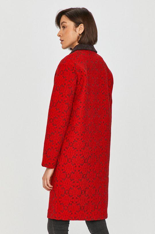 červená Desigual - Kabát