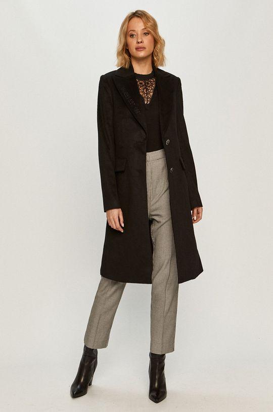 Guess Jeans - Kabát čierna