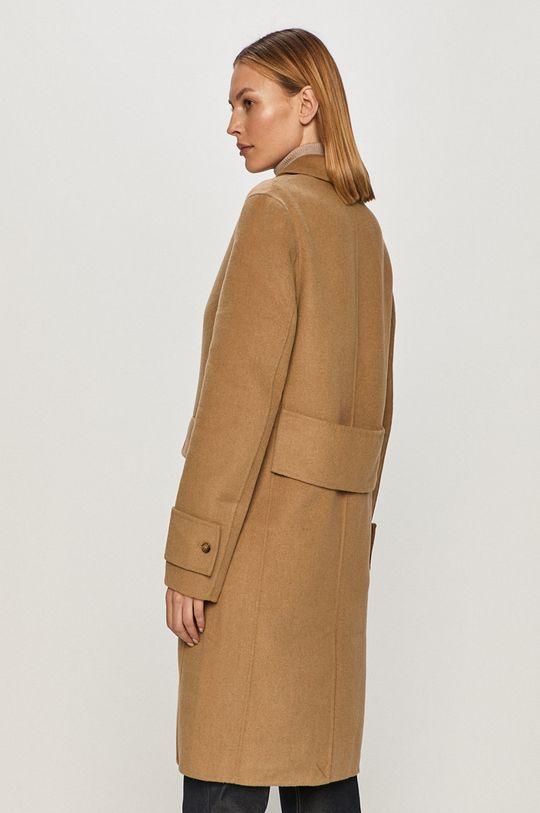 Calvin Klein - Kabát  47% Polyester, 53% Vlna