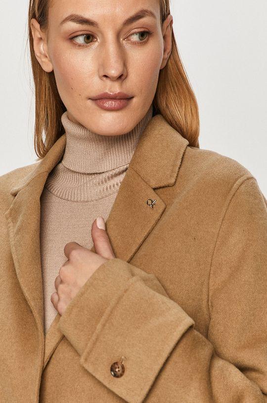 bej Calvin Klein - Palton