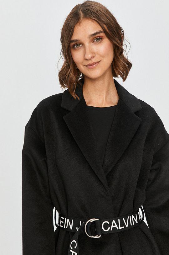 negru Calvin Klein Jeans - Palton