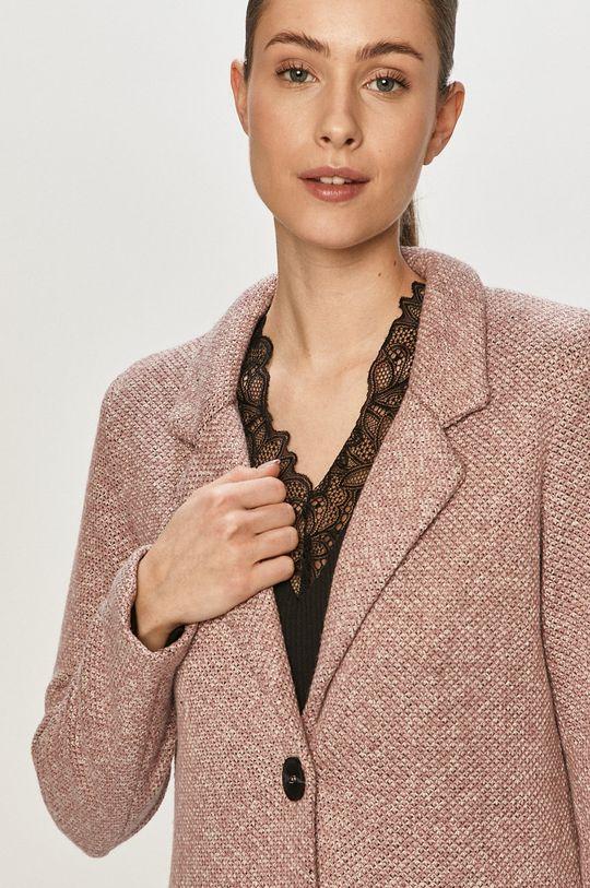 winogronowy Jacqueline de Yong - Płaszcz