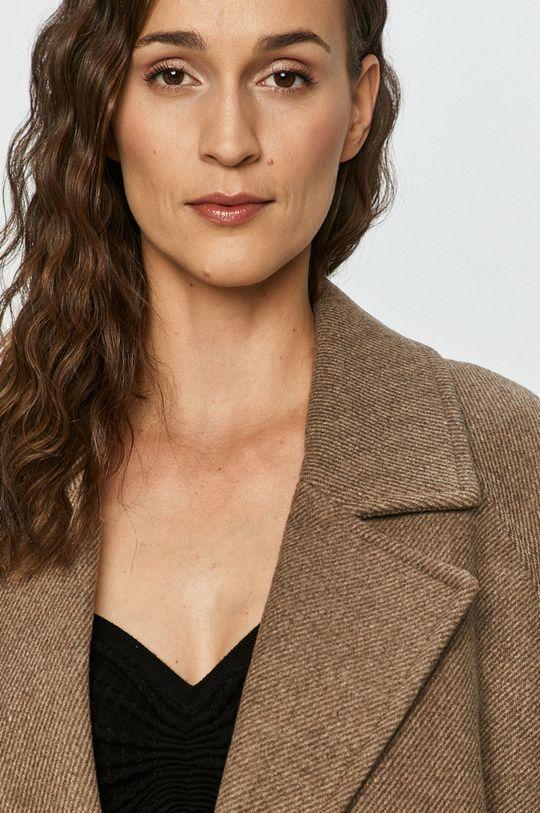 ciemny brązowy Vero Moda - Płaszcz