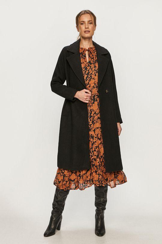 Vero Moda - Płaszcz czarny