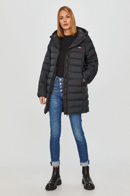 Levi's - Péřová bunda černá
