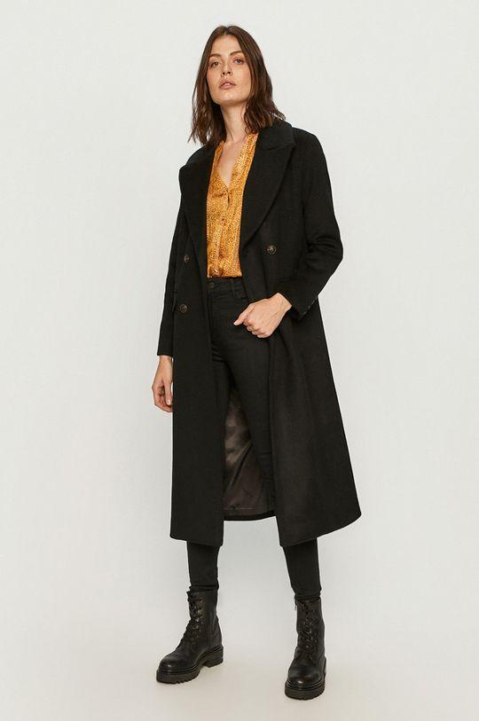 Pepe Jeans - Kabát Mara černá