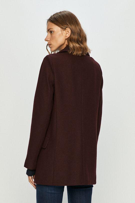 Pepe Jeans - Kabát Leyre  Podšívka: 100% Polyester Hlavní materiál: 72% Polyester, 26% Vlna, 2% Viskóza Podšívka rukávů: 100% Polyester