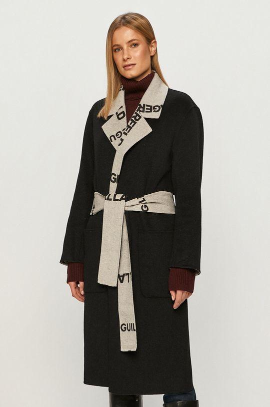 černá Karl Lagerfeld - Kabát Dámský