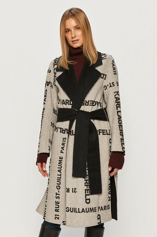 Karl Lagerfeld - Kabát černá