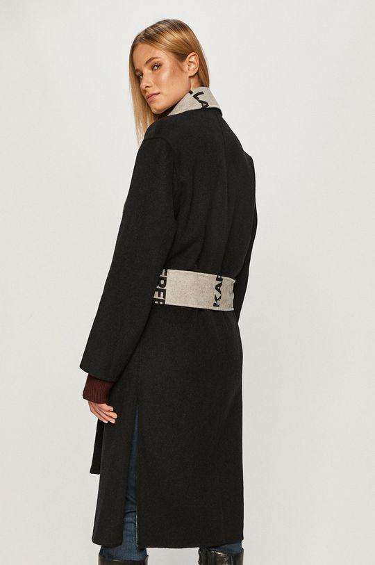 černá Karl Lagerfeld - Kabát