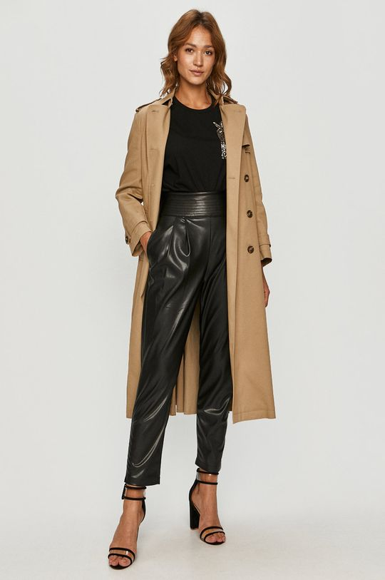 Red Valentino - Trench kabát  Podšívka: 64% Acetát, 36% Polyester Hlavní materiál: 65% Bavlna, 35% Polyamid
