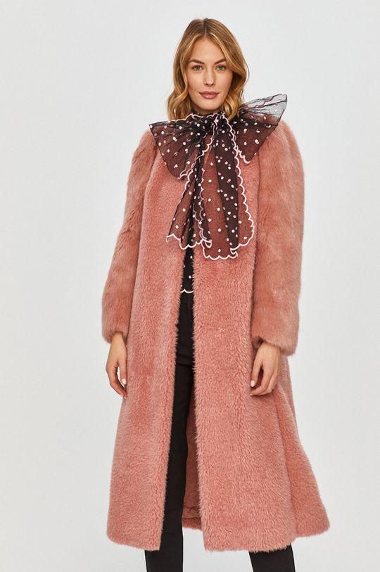 růžová Red Valentino - Kabát Dámský