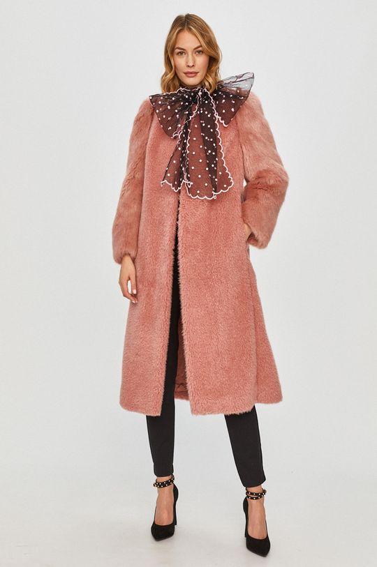 Red Valentino - Kabát růžová