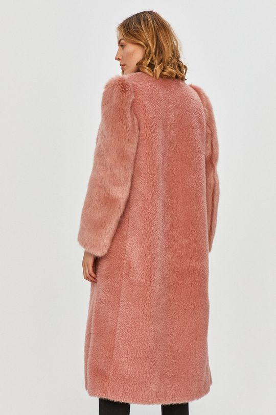 Red Valentino - Kabát  Podšívka: 60% Acetát, 40% Cupro Materiál č. 1: 88% Modacryl, 12% Polyester Materiál č. 2: 100% Polyester