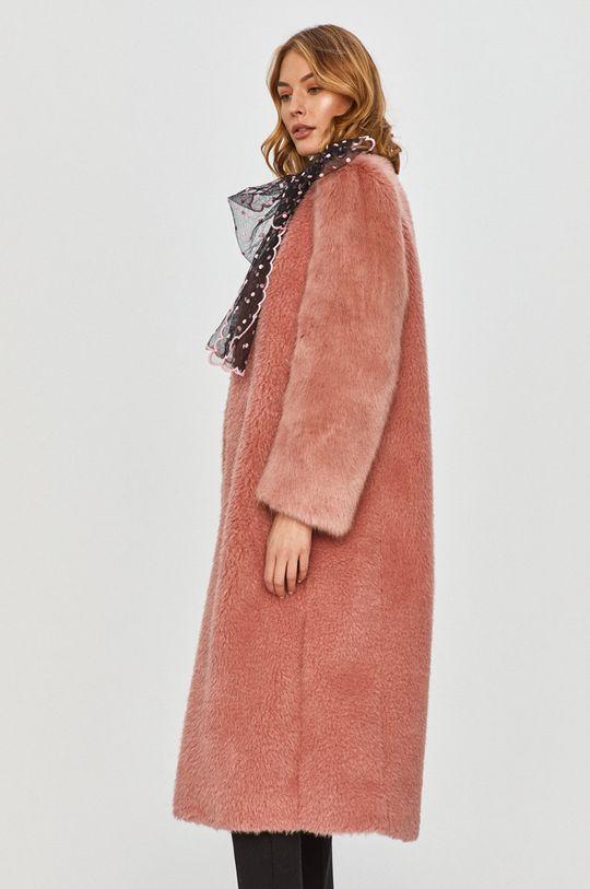 růžová Red Valentino - Kabát