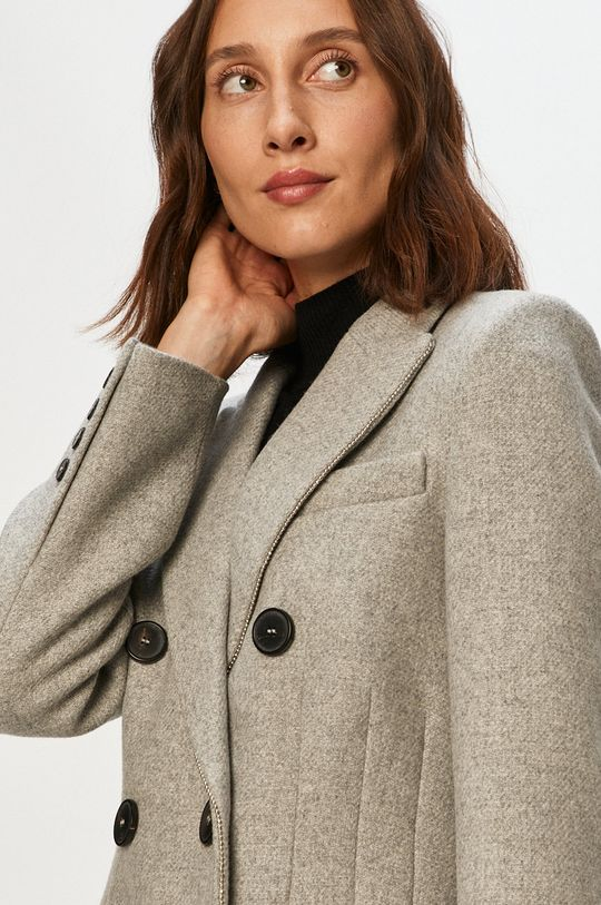 svetlosivá Morgan - Kabát