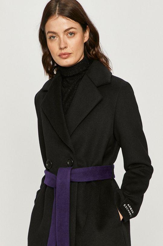černá Armani Exchange - Kabát