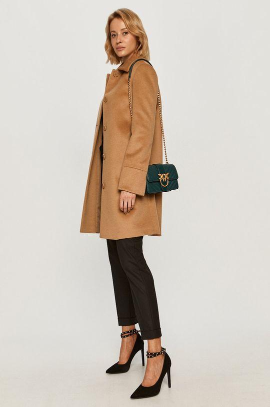 MAX&Co. - Płaszcz złoty brąz