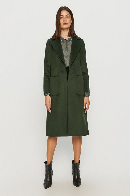 MAX&Co. - Kabát tmavě zelená