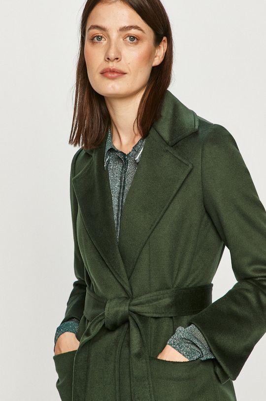 tmavě zelená MAX&Co. - Kabát