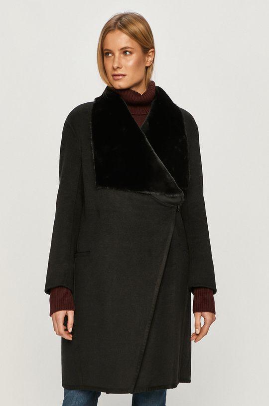 černá Silvian Heach - Kabát Dámský
