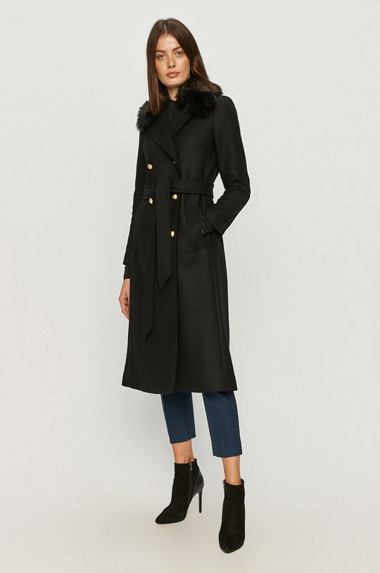 Twinset - Płaszcz czarny