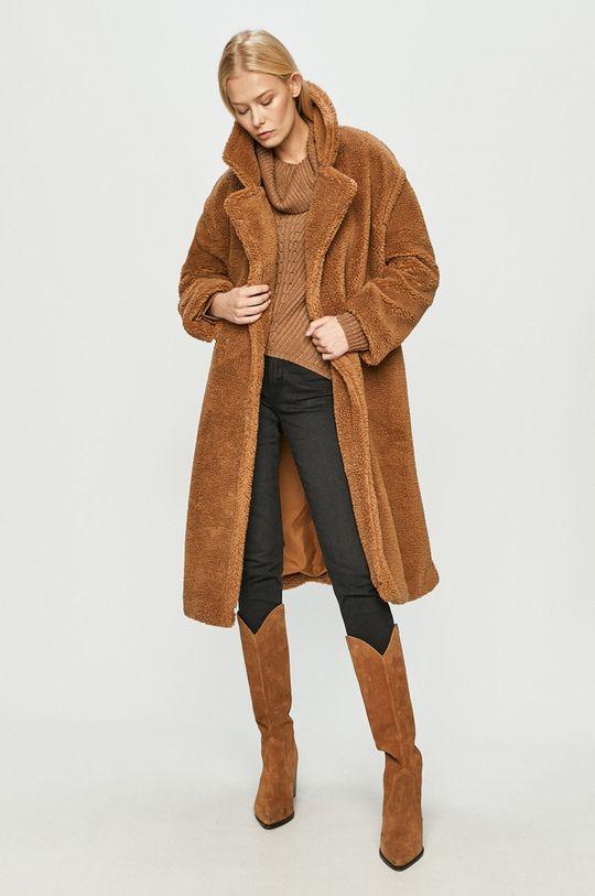 Only - Kabát zlatohnědá