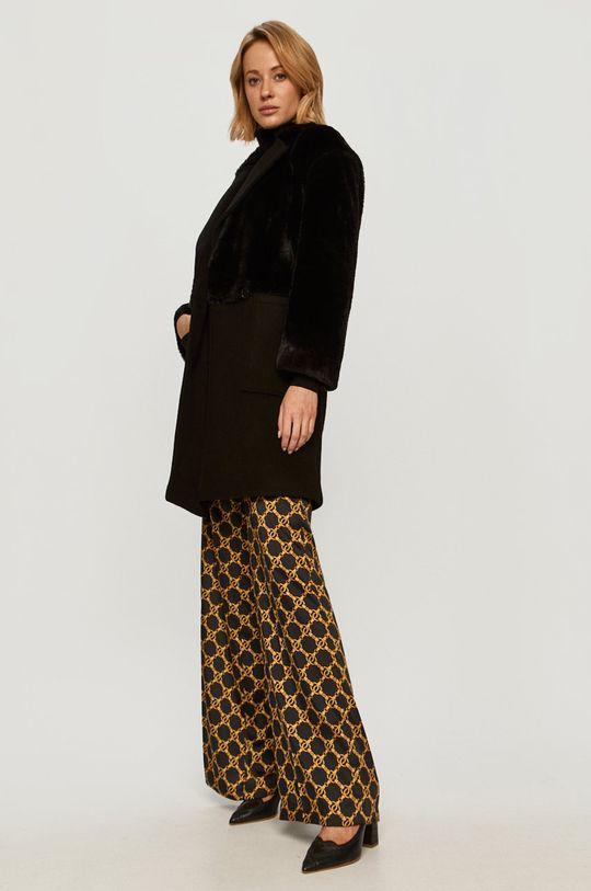 Stefanel - Kabát černá