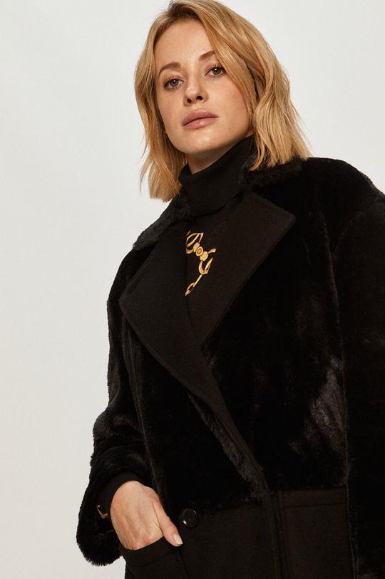 černá Stefanel - Kabát
